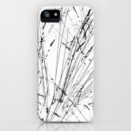 Winter Grasses iPhone Case