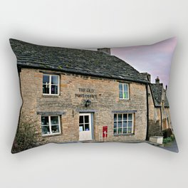 The Old Post Office Rectangular Pillow