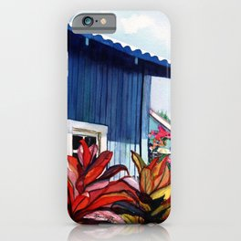 Hanapepe Town iPhone Case