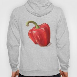 Red Paprika on Yellow Hoody
