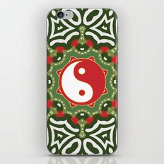 Holiday Festive Balance Yin Yang iPhone Skin