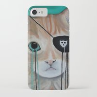 kit king iPhone & iPod Cases featuring Kit Furry by Prince Pat