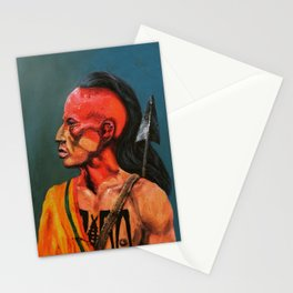 Red Face Stationery Cards
