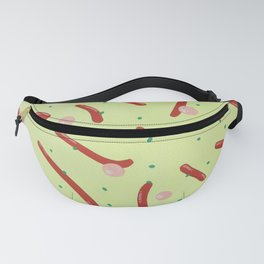 Red Worms Fanny Pack