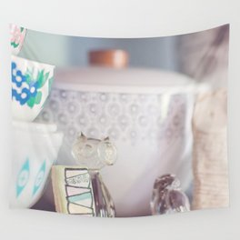 Painted Pyrex Cookie 02 Wall Tapestry