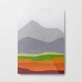 Mountains 10 Metal Print