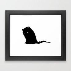 Ornery Creature Framed Art Print