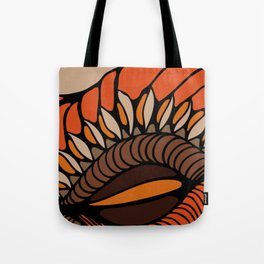 Shell - Orange Tote Bag