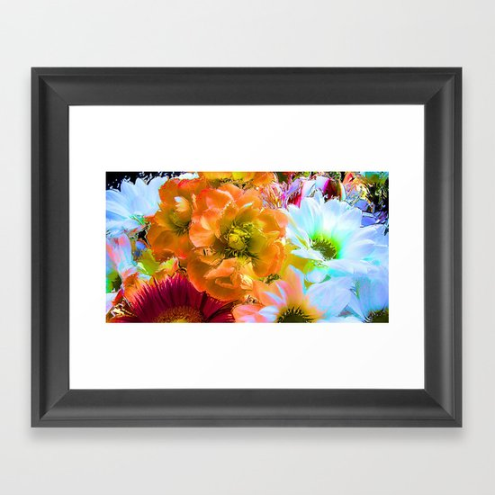 Tropical Coctail Framed Art Print
