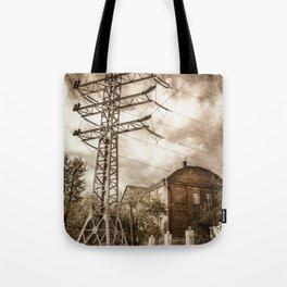 Old Powerstation Tote Bag