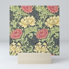 William Morris Chrysanthemum Mini Art Print