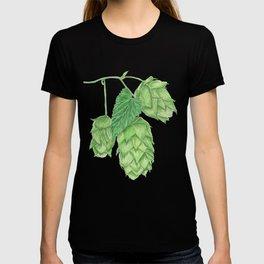 Beer Hop Flowers T-shirt
