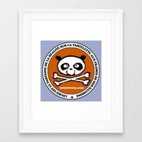 logo Framed Art Prints featuring Logo by Bouletcorp