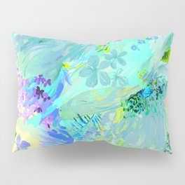 abstract floral Pillow Sham