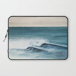 Surfing big waves Laptop Sleeve