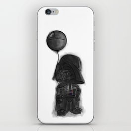 darth vader & death star! iPhone Skin