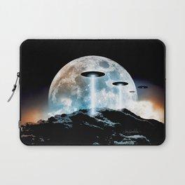 The Seeding (UFO Moon Mountain) Laptop Sleeve