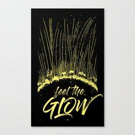 Feel the Glow // moonlight version Canvas Print