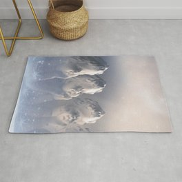 Angels for the soul and heart Rug