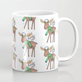 Bundle Up Cold Moose Coffee Mug