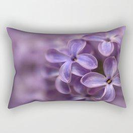 Fresh Lilac flowers Rectangular Pillow
