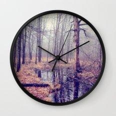 tread softly Wall Clock