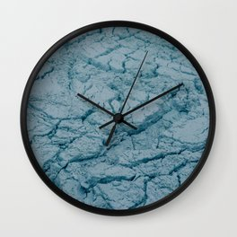 Ice Flows Wall Clock