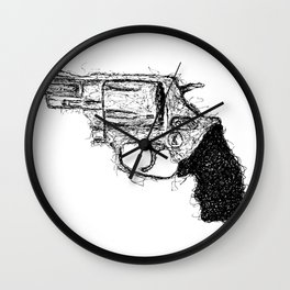 Smith & Wesson Scrawl Wall Clock