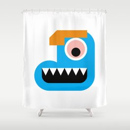 Smile #2 Shower Curtain