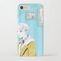 kieren walker iPhone & iPod Cases featuring In The Flesh - Kieren  by Cy-lindric