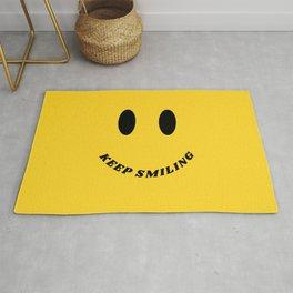 Keep Smiling Rug