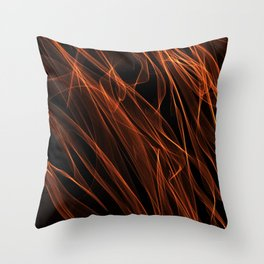 Summer lines 17 Throw Pillow