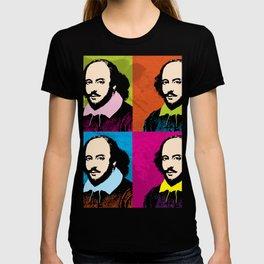 WILLIAM SHAKESPEARE (4-UP POP ART COLLAGE) T-shirt