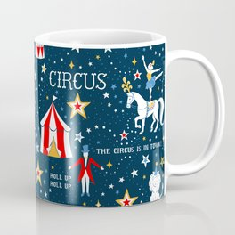 Retro Circus Coffee Mug