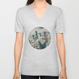 Downtown Unisex V-Neck