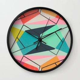 ColorBlock III Wall Clock