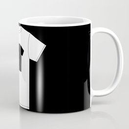 Black T-Shirt With a Picture of My White T-Shirt With a Picture of My Black T-Shirt Coffee Mug