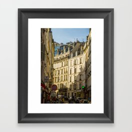 Montmartre series 6 Framed Art Print