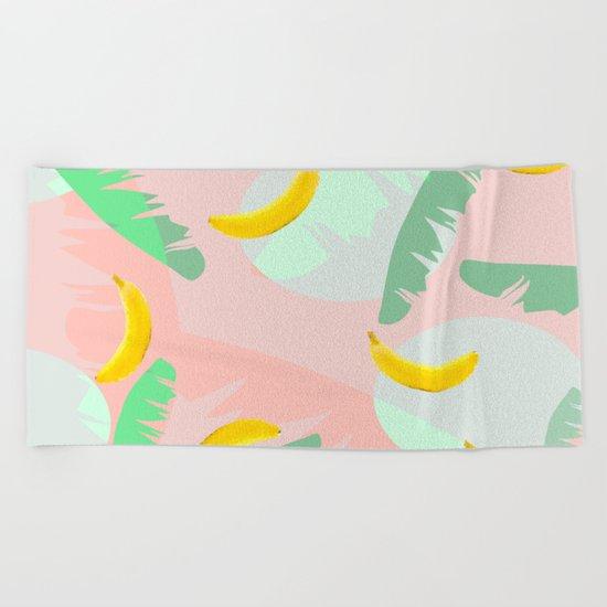 Rumba Banana Beach Towel