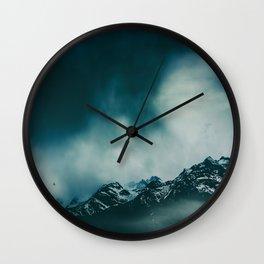 wild peaks Wall Clock
