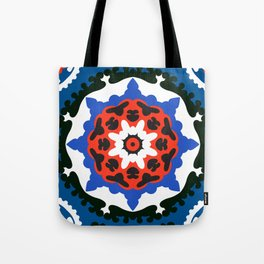 Bold and bright beauty of suzani patterns ver.7 Tote Bag