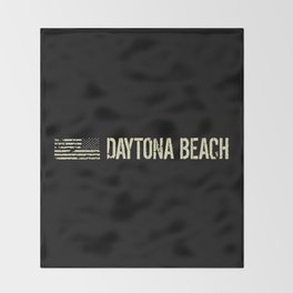 Black Flag: Daytona Beach Throw Blanket