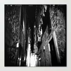 Midnight in Dubrovnik 01 Canvas Print
