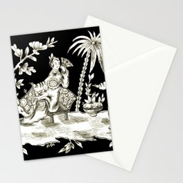 Black & White Chinoiserie Stationery Cards