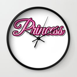 Princess Wall Clock