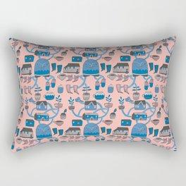 Pattern Project #17 / Bird Life Rectangular Pillow