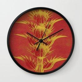 Color Adaptation - Macro Photography Wall Clock