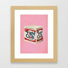 Fight Shot Framed Art Print