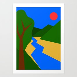 Nature Series: Landscape 1 Art Print