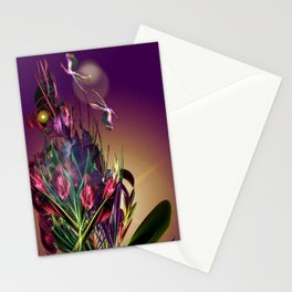 Sunset Butterflies Stationery Cards